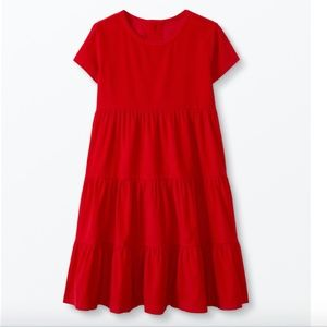 NWT Hanna Andersson Red Corduroy Twirl Dress